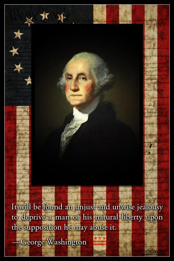Amerikan Hero G. Washington by SaintIscariot