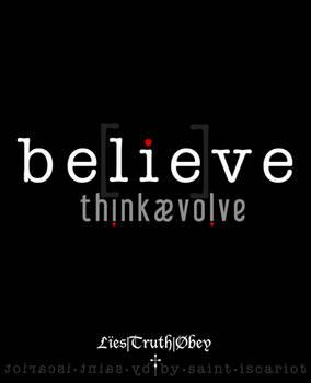 be[lie]ve