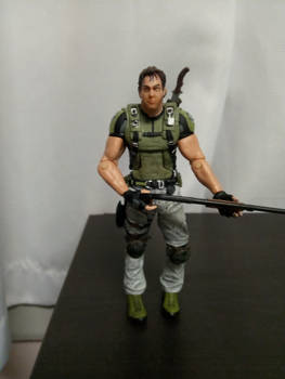 Chris Redfield action figure