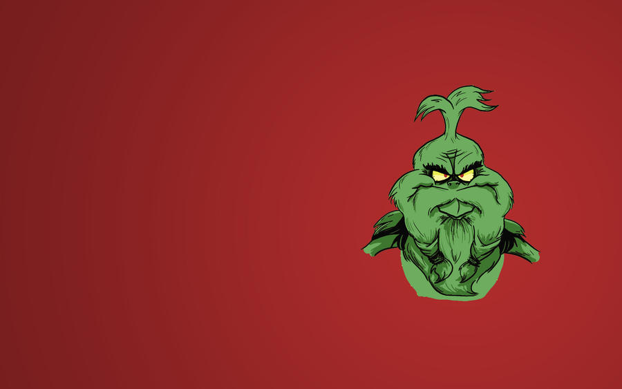 Bearded: The Grinch Wallpaper by
