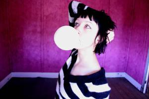 bubble coloured white