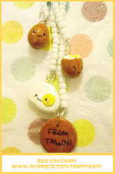 Egg Keychain