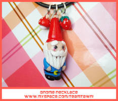 Finished Gnome Necklace