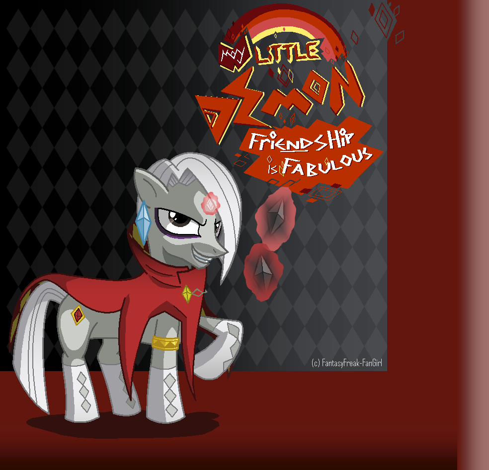 Demon Pony Ghirahim by FantasyFreak-FanGirl