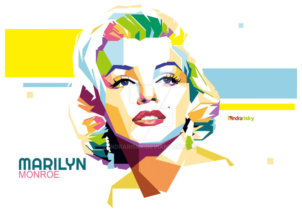 Marilyn Monroe by IndraRisky