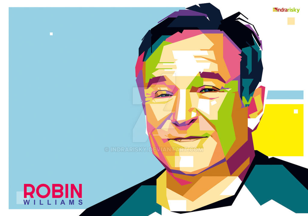 Robbin Williams WPAP by IndraRisky
