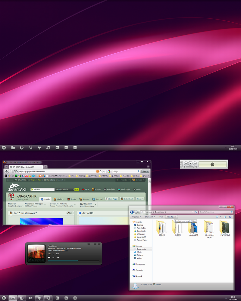 Soft7 1.5 for Windows 7 by AlexandrePh