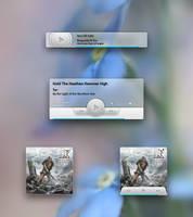 Media Player Mockup