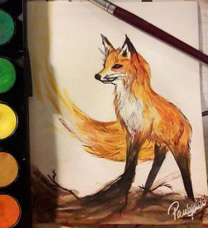 Firey fox