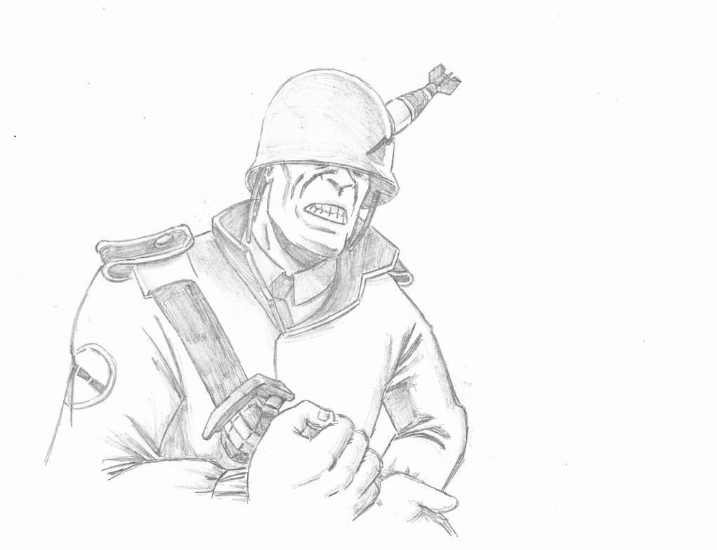 Tf2 da souljah v by stabkamay on deviantart for Team fortress 2 coloring pages