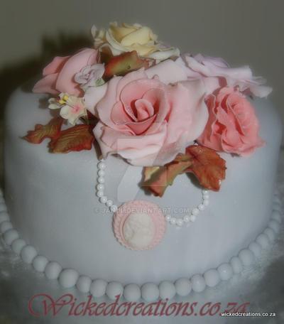 Vintage Victorian Cake by JanJL