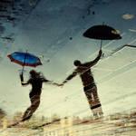 Dancing under the rain 2 by naru-naru3