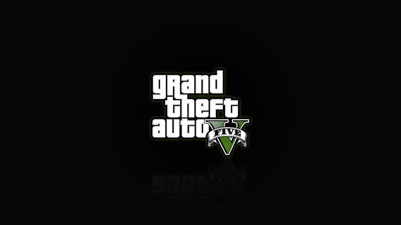 GTA V Wallpaper-Logo By Unarmedhero On DeviantArt
