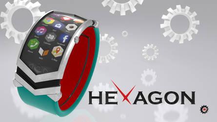 HEXAGON - Watch / Montre 1