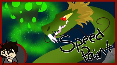 Dragon Thumbnail |SPEEDPAINT| by JayDrawsOrSomething