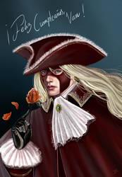 El Conde de la Rosa Negra/ Count of the Black Rose by DMaula
