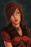 Leah from Diablo 3 by KNKL