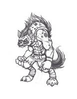 Gnoll conept 01 by KNKL