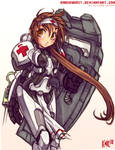 Terran Medic Girl
