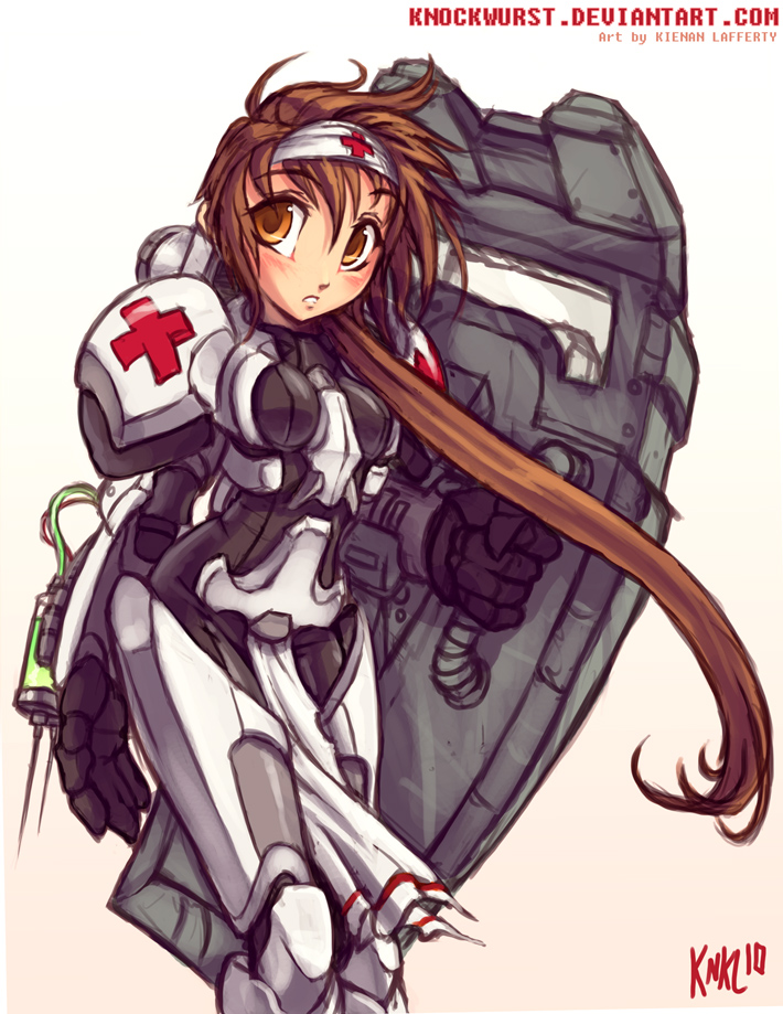 Terran Medic Girl by Knockwurst