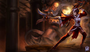 LoL - Blood Moon Akali