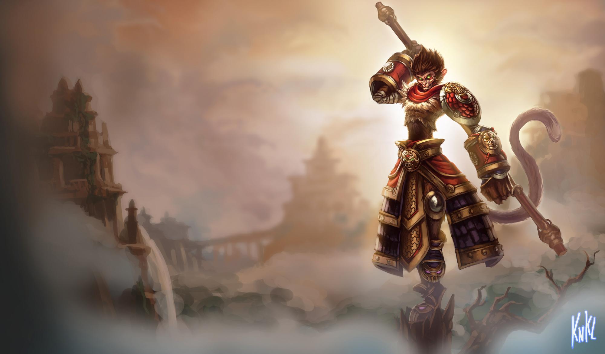 LoL - Wukong by Knockwurst
