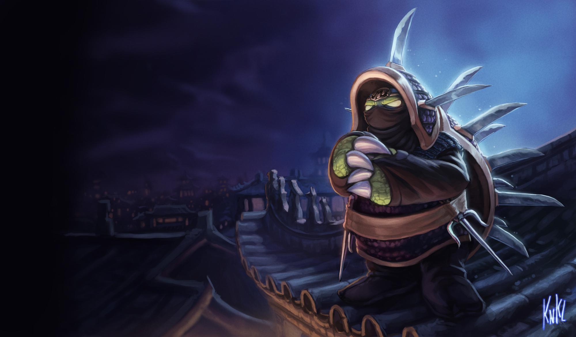 LoL - Ninja Rammus by Knockwurst
