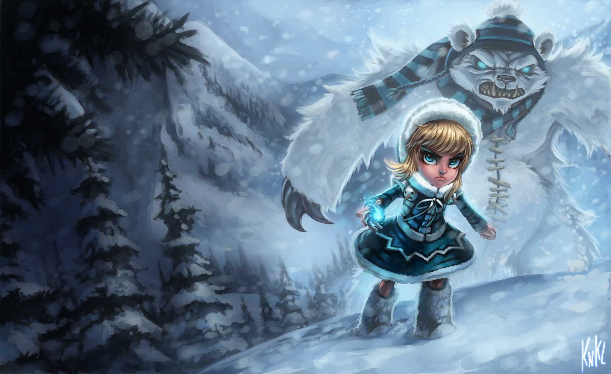 LoL - Frostfire Annie by Knockwurst