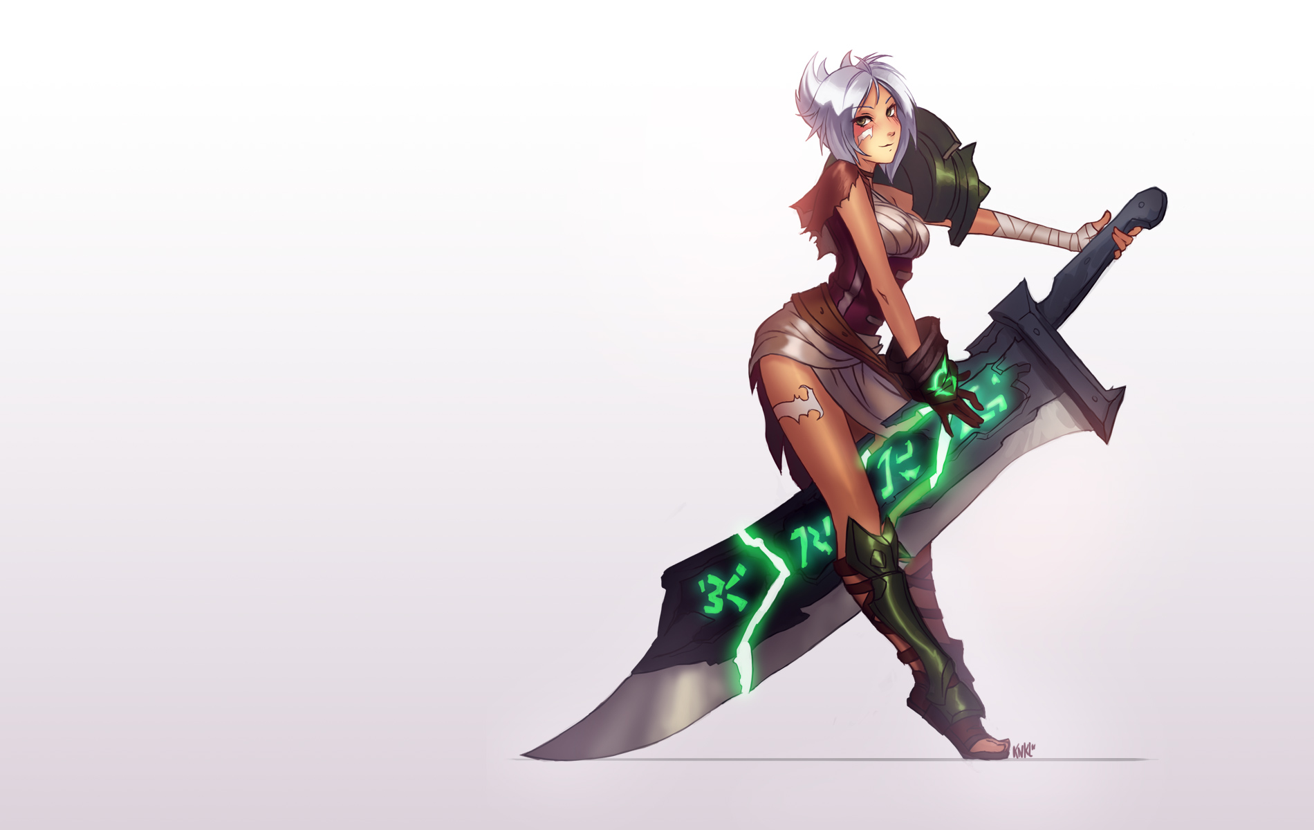 Bishoujo Exile - Riven by Knockwurst