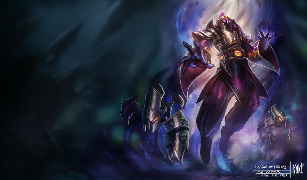 LoL - Overlord Malzahar by Knockwurst