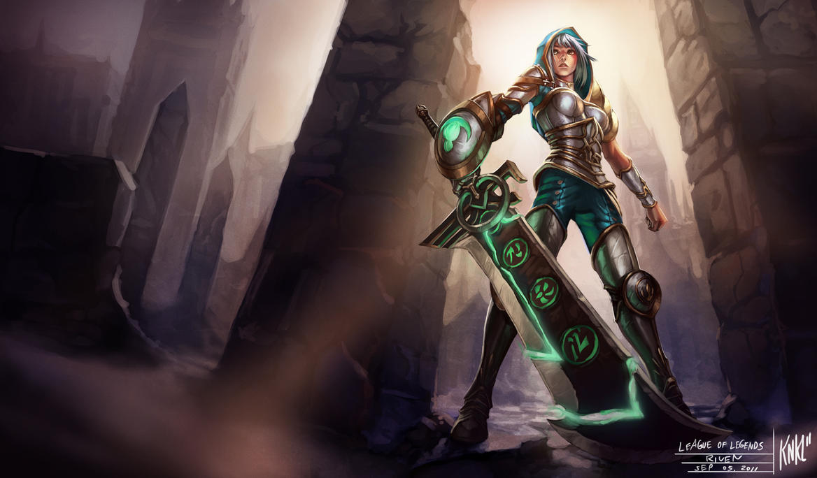 Can we brighten up Redeemed Riven's in game model?
