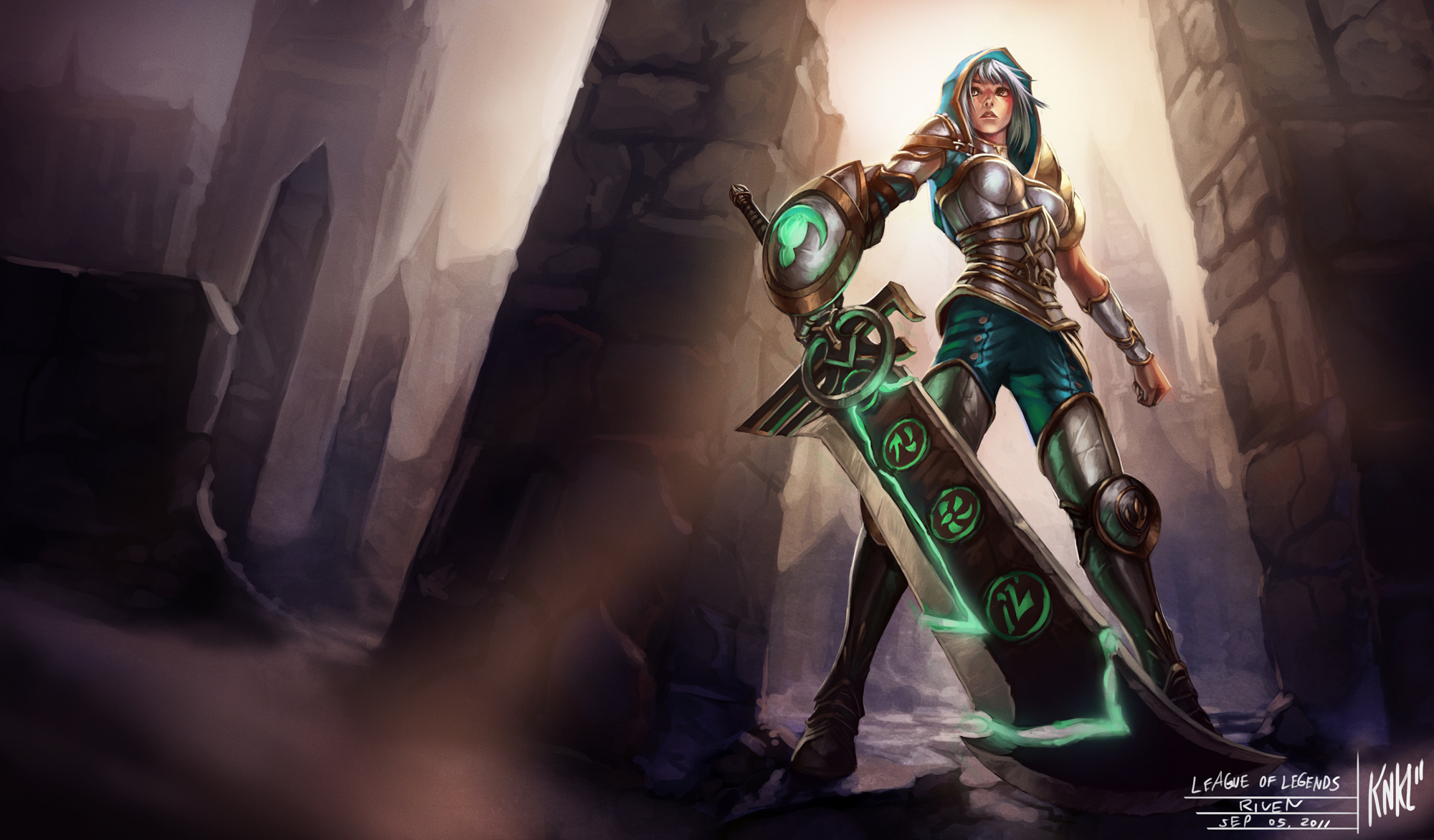LoL - Redeemed Riven by Knockwurst