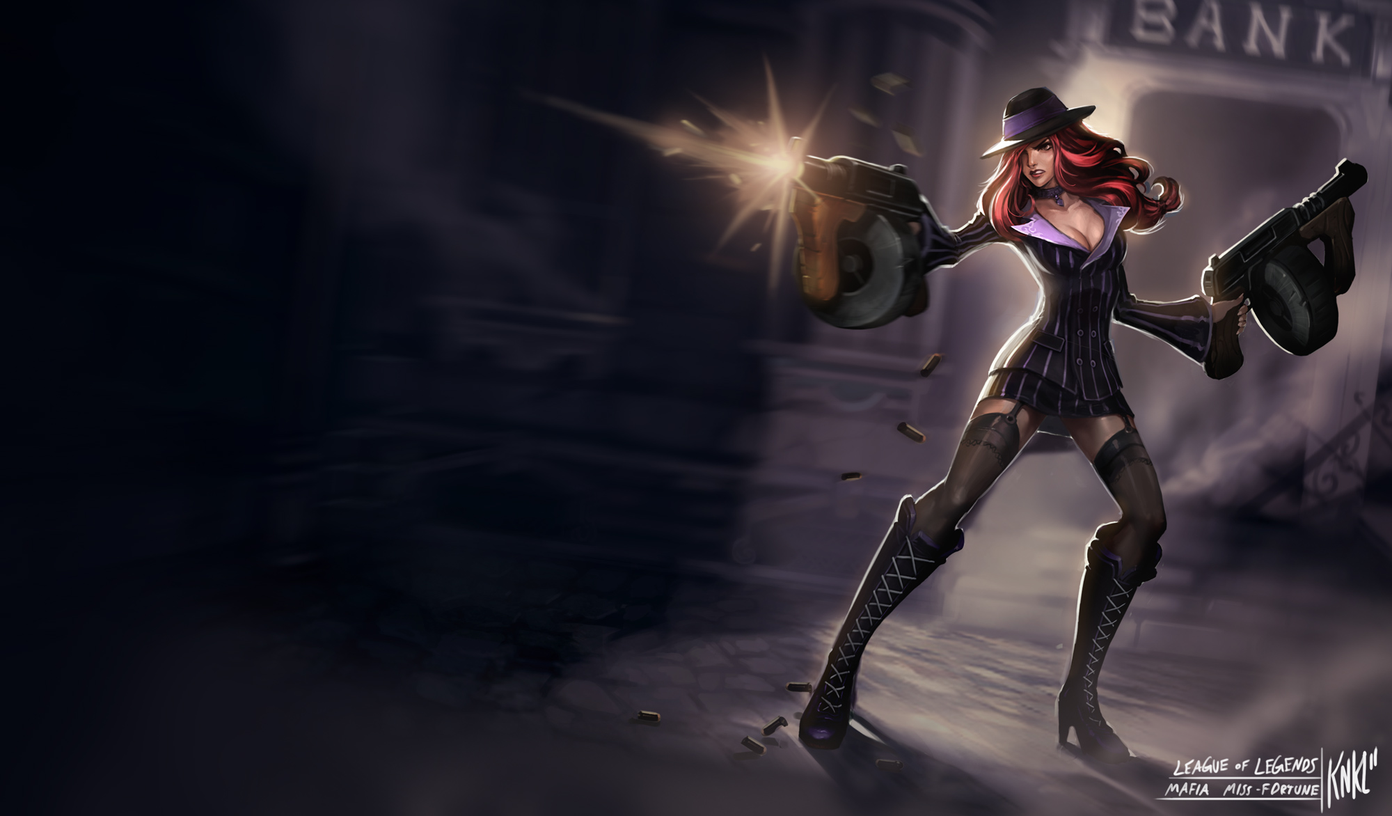 LoL - Mafia Miss Fortune by Knockwurst