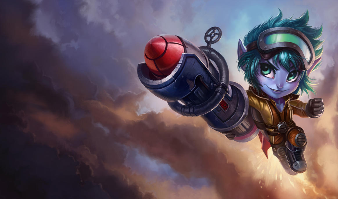 LoL - Rocket Tristana by Knockwurst