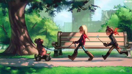 Emma strollin MAY by KNKL