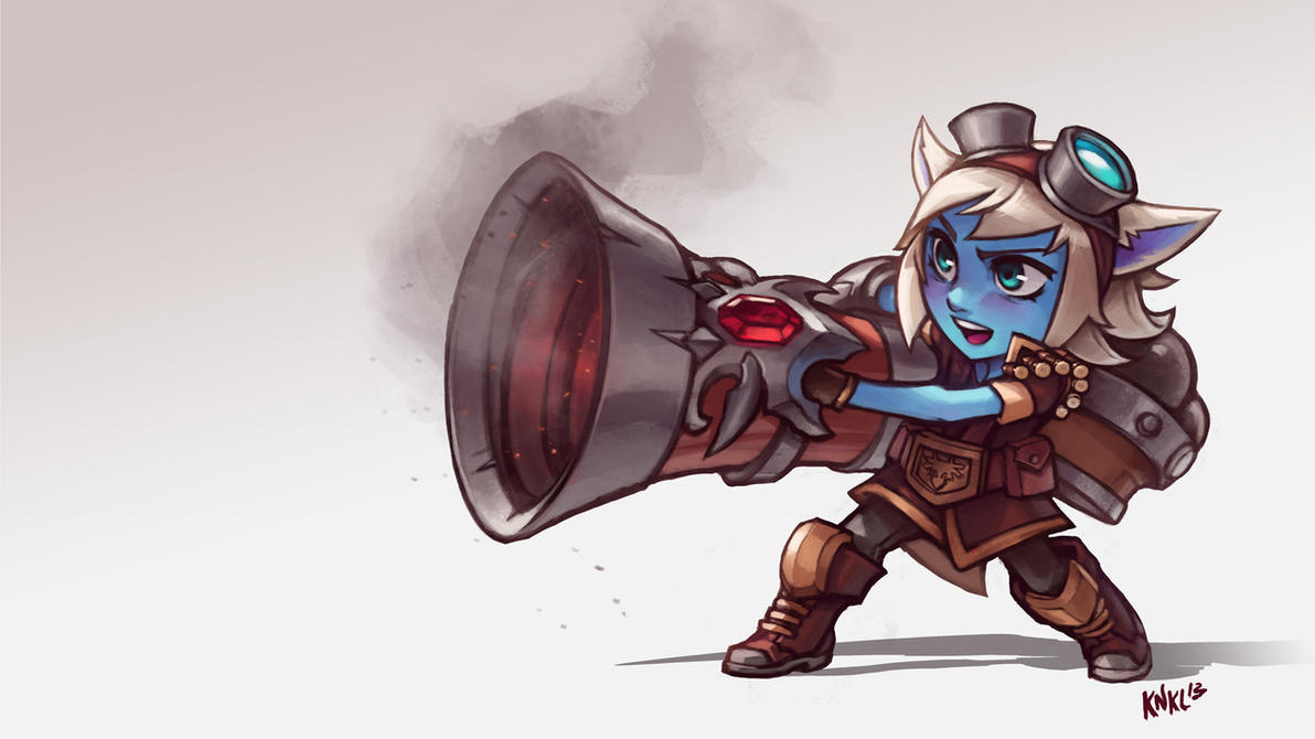 Tristana League of Legends. KNKL by Knockwurst