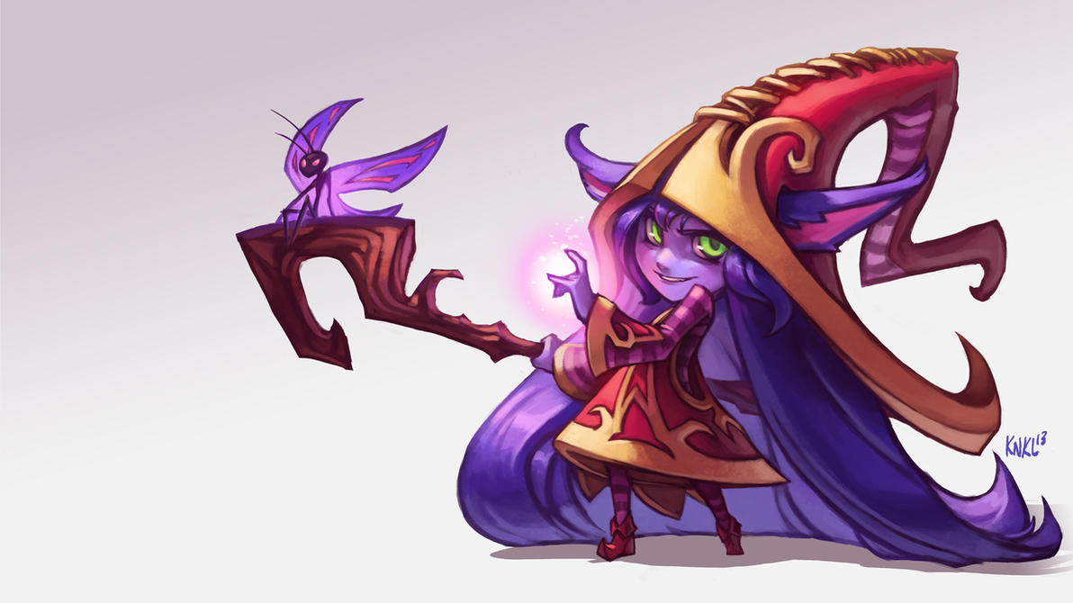 Lulu League of Legends. KNKL by Knockwurst