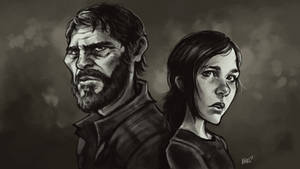 The Last of Us - Ellie and Joel, KNKL