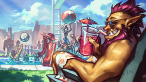 Warcraft POOL PARTY promo