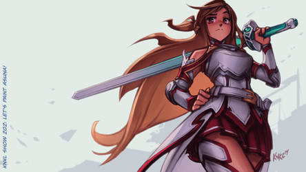 VIDEO TUTORIAL: Let's Paint ASUNA!