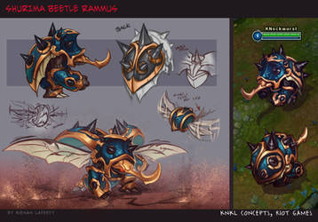 Guardian of the Sands Rammus - KNKL Concepts by KNKL