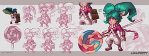 Poppy VU - Lollipoppy by KNKL