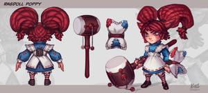 Poppy VU - Ragdoll poppy
