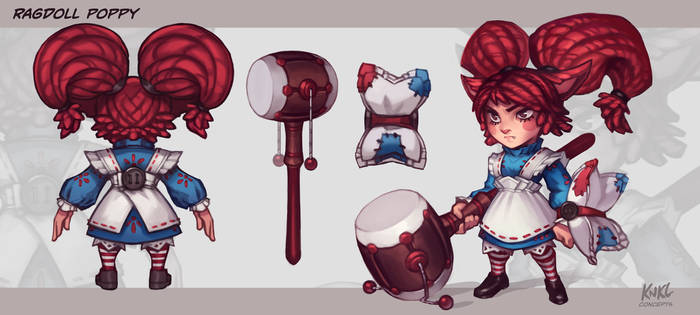 Poppy VU - Ragdoll poppy