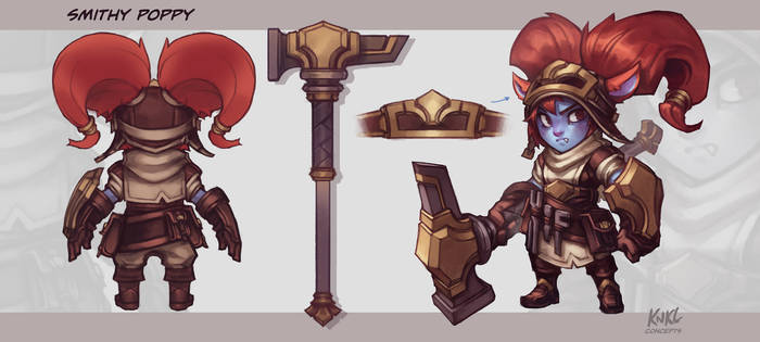Poppy VU - Blacksmith Poppy