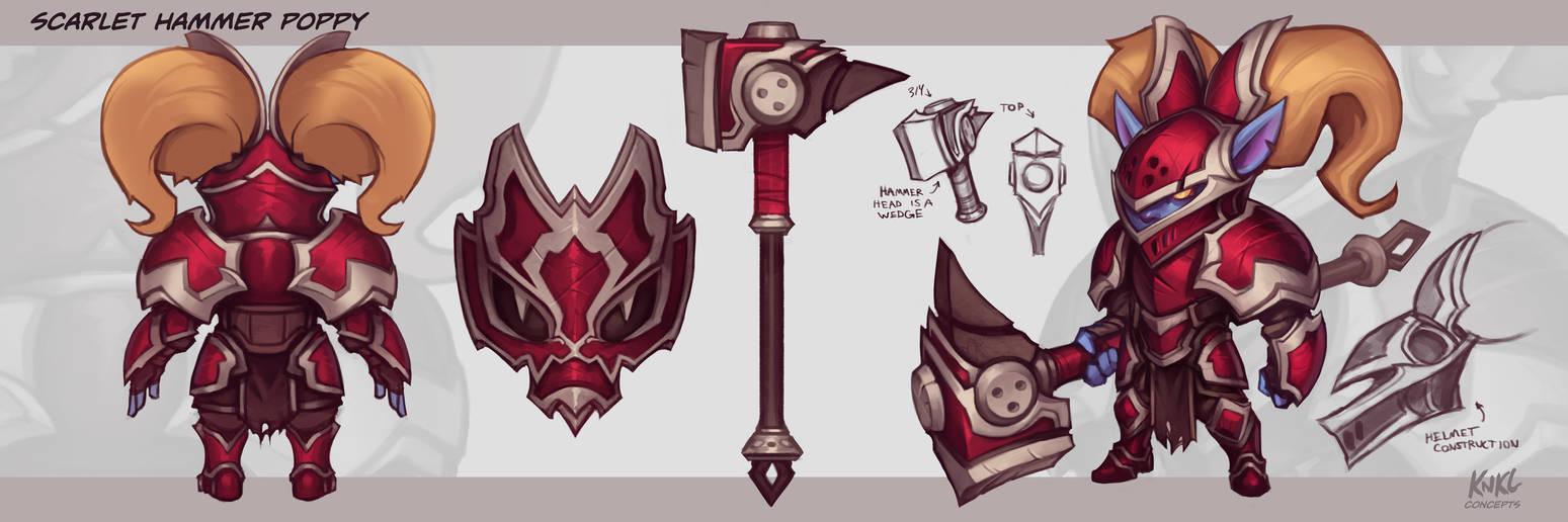 Poppy VU - Scarlet Hammer