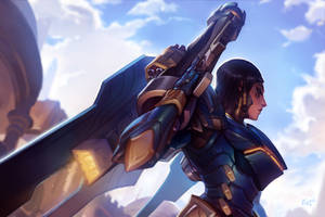 Pharah - 21 days of Overwatch!