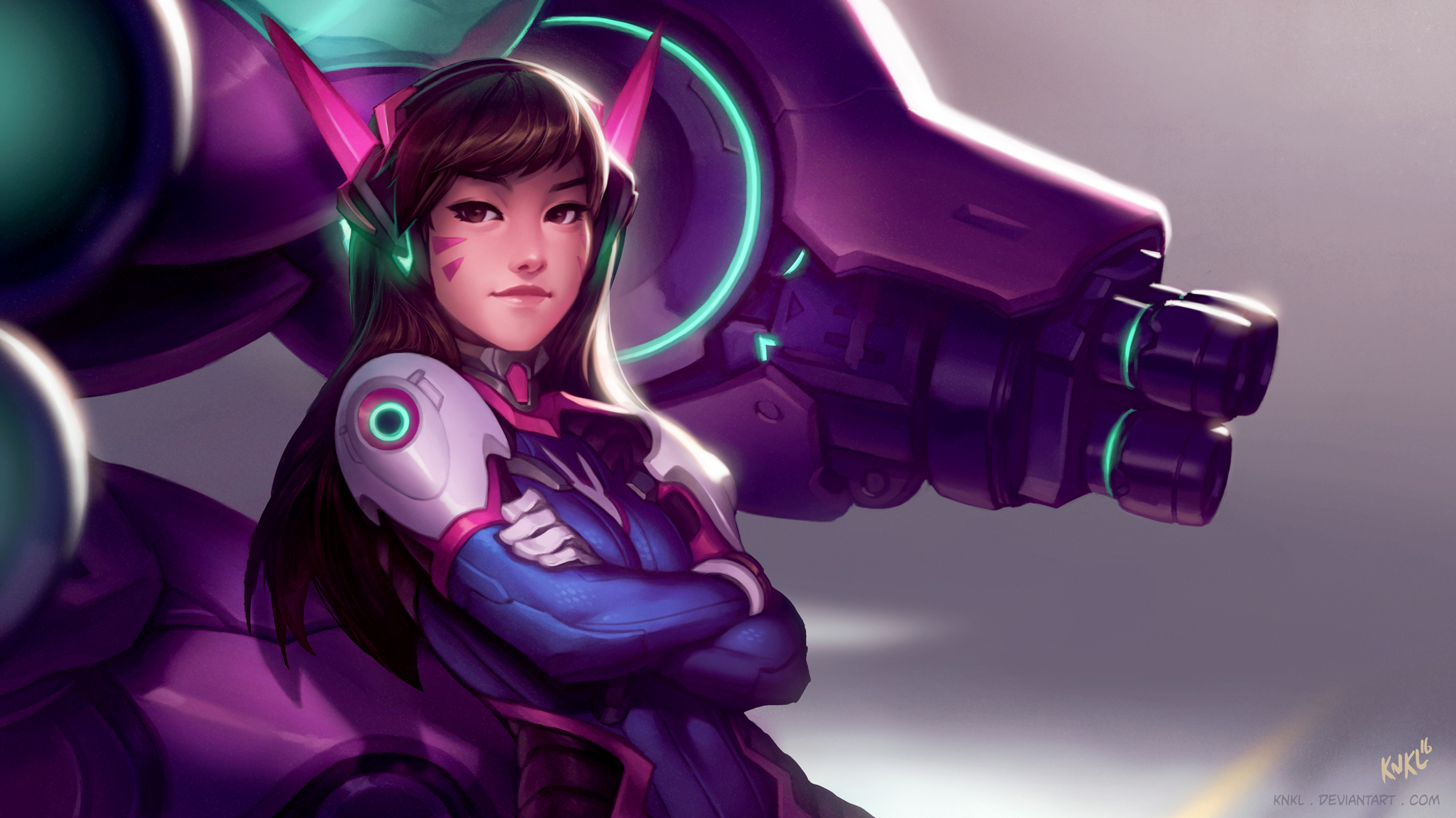 D.va Overwatch Promo by KNKL