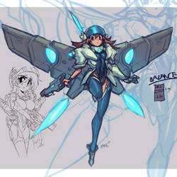 Anime Tech Armor - YouTube Process!! by KNKL
