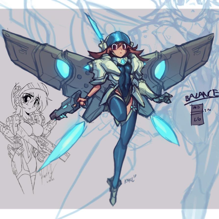 Anime Tech Armor - YouTube Process!! by KNKL
